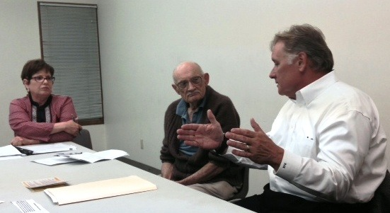 OTOC leaders discuss mental health issues with Sen Bob Krist - 1