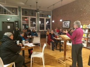 Urban Abbey events in February encourage Leaders to get politically active - 4