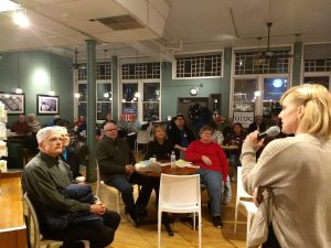 Issue cafes educate about refugees, mental health, and housing - 8