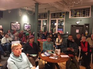 Issue cafes educate about refugees, mental health, and housing - 2