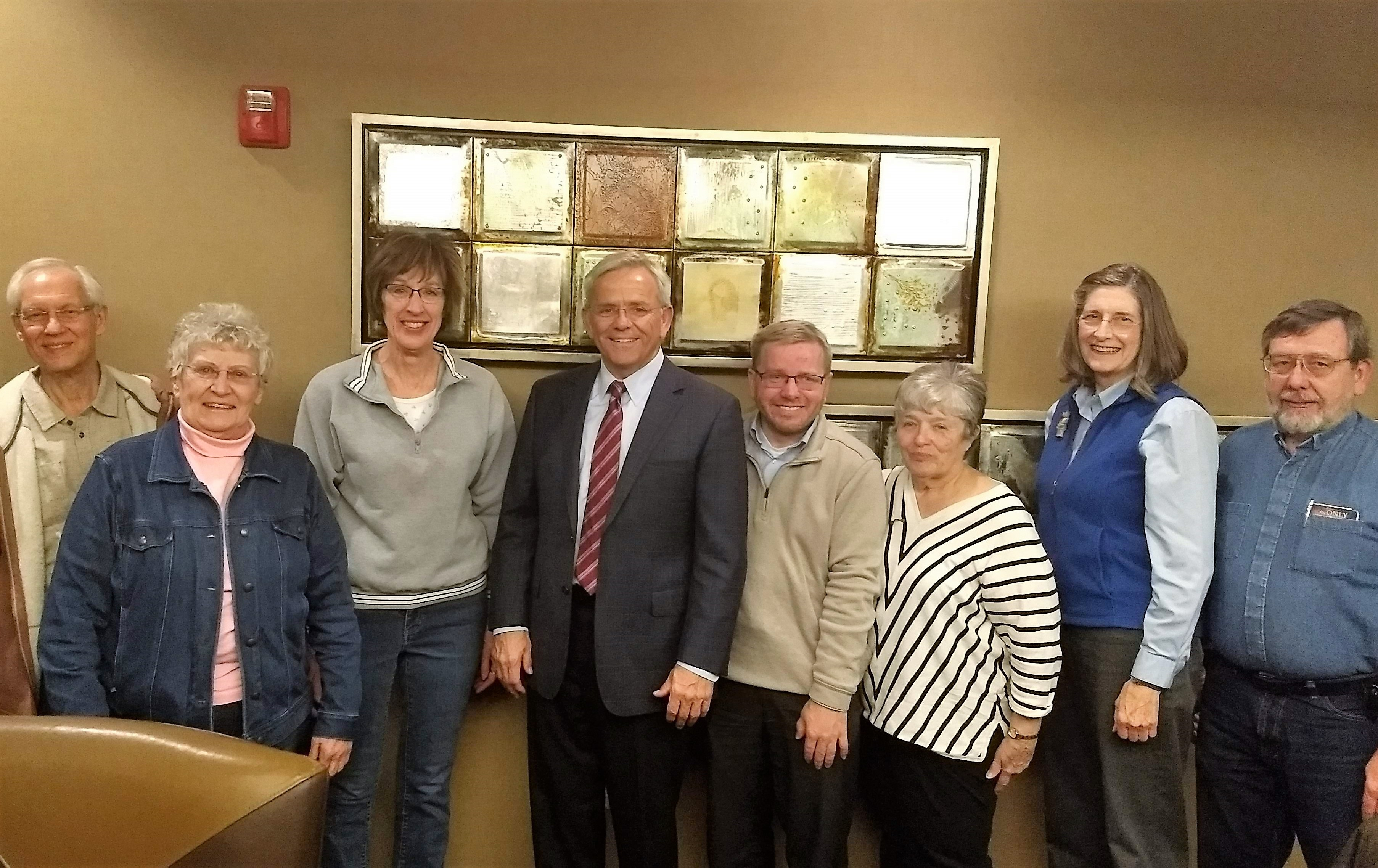 OTOC meets with 9 area senators in anticipation of 2019 Unicameral session - 14