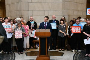 OTOC Leaders testify against delays and complications of Medicaid - 4